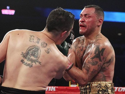 Брэндон Риос против Майк Альварадо (Brandon Rios vs Mike Alvarado 2) Апперкот –uppercut