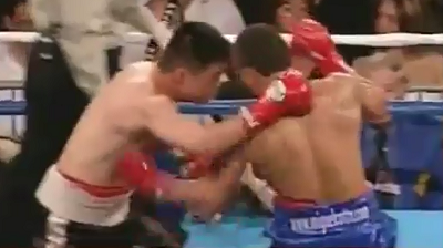 бой Мигель Котто против Джоэл Перес (Miguel Cotto vs Joel Perez) - Апперкот –uppercut - Нокаут -  knockout