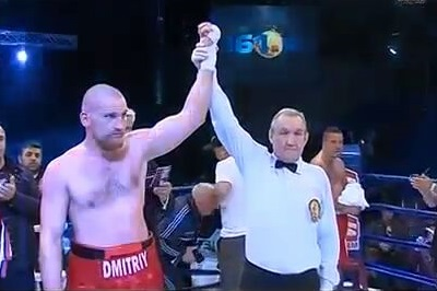 Dmitry Kudryashov vs Giulian Ilie