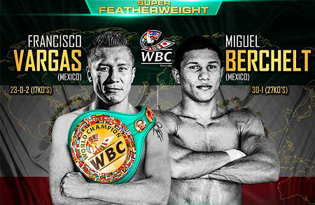 Бой Франсиско Варгас против Мигель Берчельт - Francisco Vargas vs Miguel Berchelt