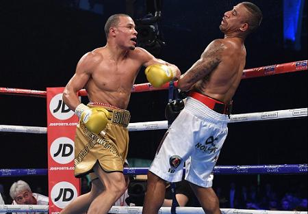 Chris Eubank Jr vs Renold Quinlan