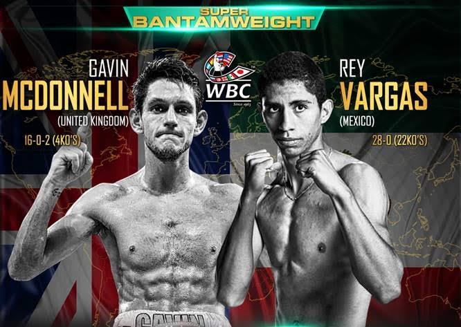 Бой Гэвин Макдоннелл против Рэй Варгас - Gavin McDonnell vs Rey Vargas