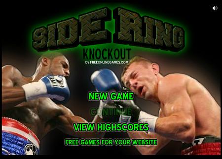 Нокаут - бокс - онлайн игра