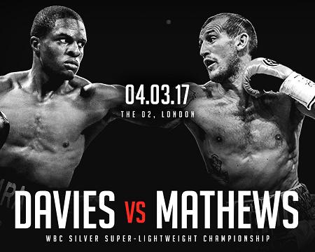 Бой Охара Дэйвис против Дерри Мэтьюз - Ohara Davies vs Derry Matthews