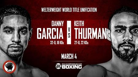 Бой Кит Тёрман против Дэнни Гарсиа - Keith Thurman vs Danny Garcia