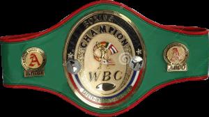 Чемпионский пояс WBC Asian