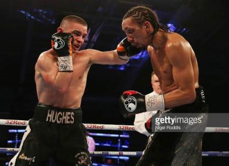 Бой Тайрон Нёрс против Джо Хьюз - Tyrone Nurses vs Joe Hughes