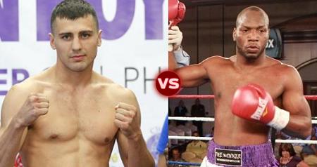 Бой Александр Гвоздик против Юниески Гонсалес