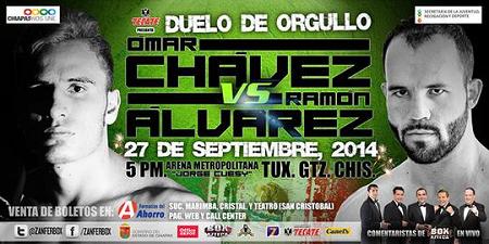 Бой Рамон Альварес против Омар Чавес