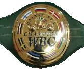 Чемпионский пояс WBC Baltic