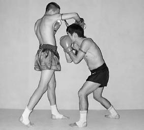 защита нырком в боксе