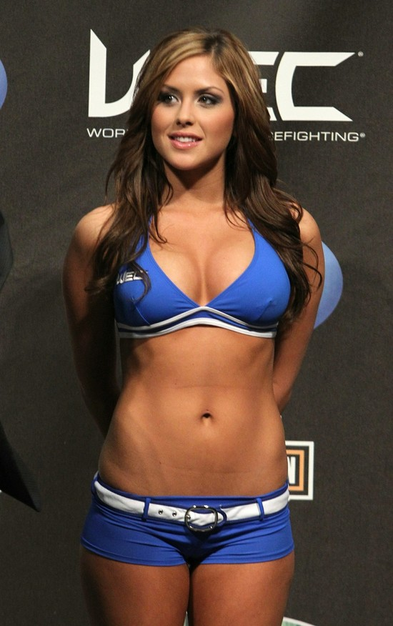 Brittney Palmer - Бриттни Палмер - Ring Girls - UFC