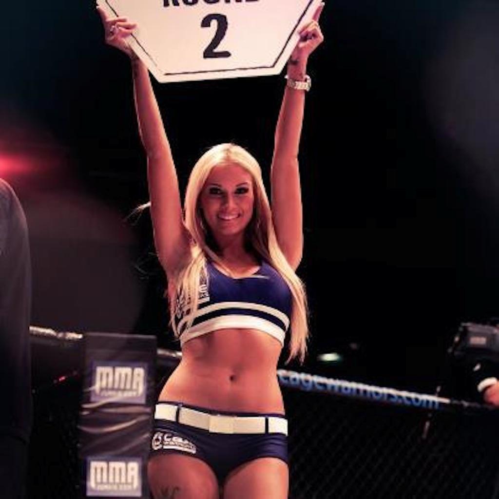 Brooke Lynette - Брук Линетт - Ring Girls - UFC