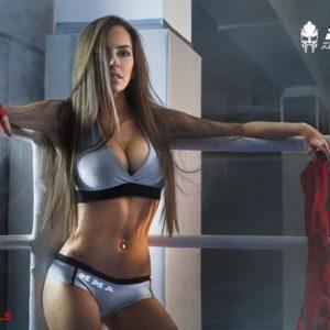 Виктория Котт - девушка ринга