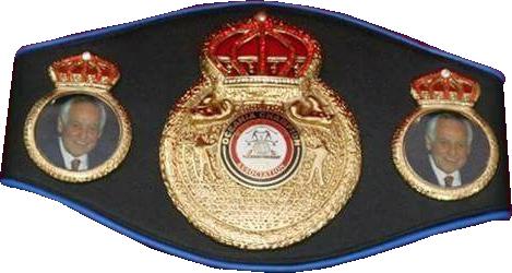 Чемпионский пояс WBA Oceania
