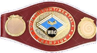 Чемпионский пояс WBO Inter-Continental