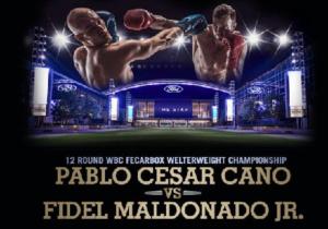 Бой Пабло Сесар Кано против Фидель Мальдонадо, мл