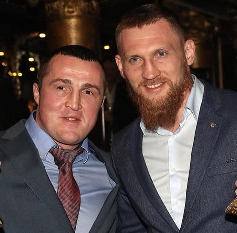 Денис Лебедев и Дмитрий Кудряшов