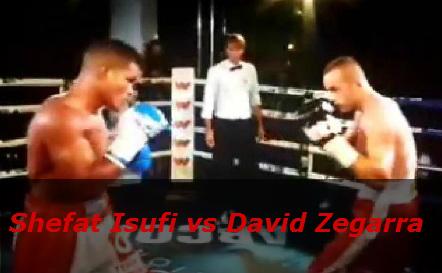 Бой Шефат Исуфи против Давид Сегарра