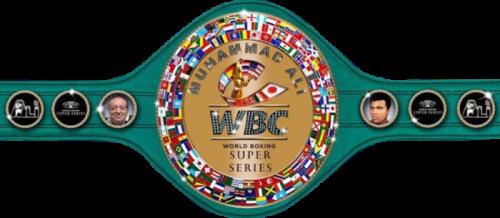 Чемпионский пояс WBC WBSS