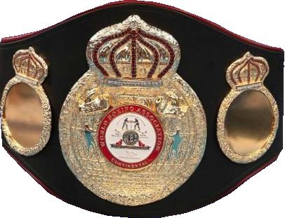 Чемпионский пояс WBA Continental