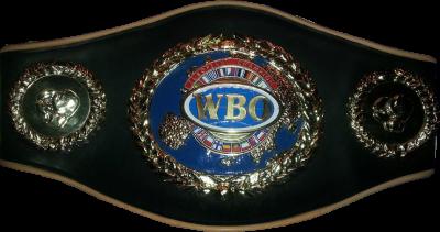 Чемпионский пояс WBO European
