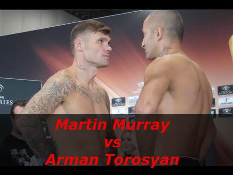Бой Мартин Маррей против Арман Торосян