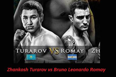 Бой Жанкош Тураров против Бруно Ромай