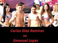 Видео боя Карлос Диас Рамирес – Эмануэль Лопес – Carlos Diaz Ramirez vs Emanuel Lopez
