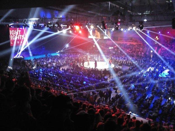 ГЦКЗ Россия, Лужники профессиональный бокс