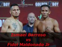 Видео боя Исмаэль Барросо – Фидель Мальдонадо, мл – Ismael Barroso vs Fidel Maldonado Jr