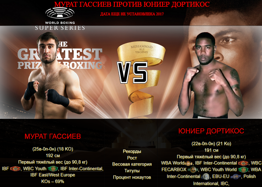 Murat Gassiev vs Yunier Dorticos - World Boxing Superseri