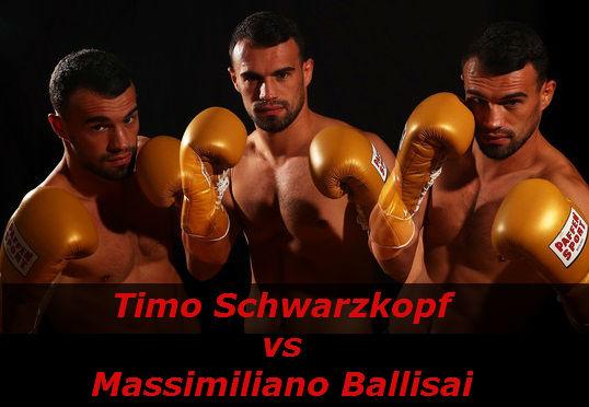 Бой Тимо Шварцкопф против Массимилиано Баллисаи