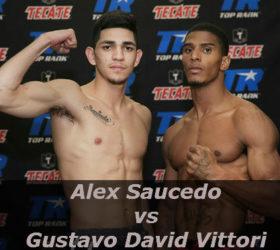 View a video of the fight Alex Saucedo vs Gustavo David Vittori