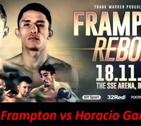 Видео боя Карл Фрэмптон – Орасио Гарсиа – Carl Frampton vs Horacio Garcia