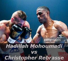 Видео боя Хадилла Мохумади – Кристофер Ребрассе – Hadillah Mohoumadi vs Christopher Rebrasse