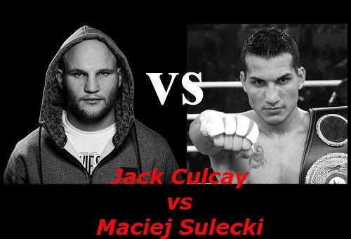 Бой Джек Кулькай против Мацей Сулецки
