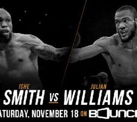 Видео боя Джулиан Уильямс – Ише Смит – Julian Williams vs Ishe Smith