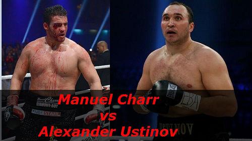 Бой Мануэлю Чарр против Александр Устинов