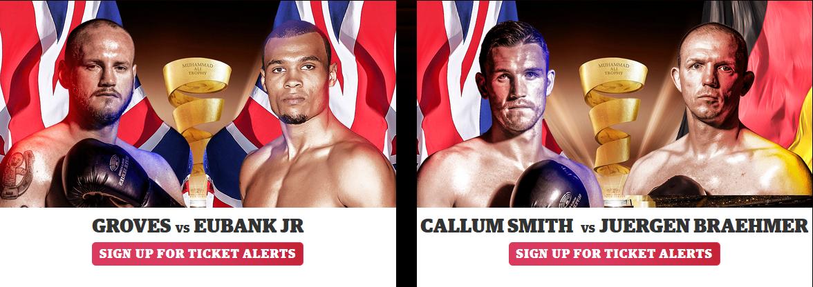 Полуфинал всемирной боксерской суперсерии - пары боксеров полу тяжелого веса