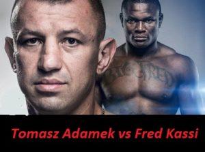 Fight Tomasz Adamek vs Fred Kassi