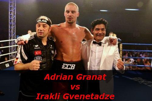 Бой Адриан Гранат против Иракли Гвенетадзе