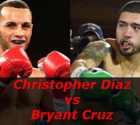 Видео боя Кристофер Диас – Брайант Крус – Christopher Diaz vs Bryant Cruz