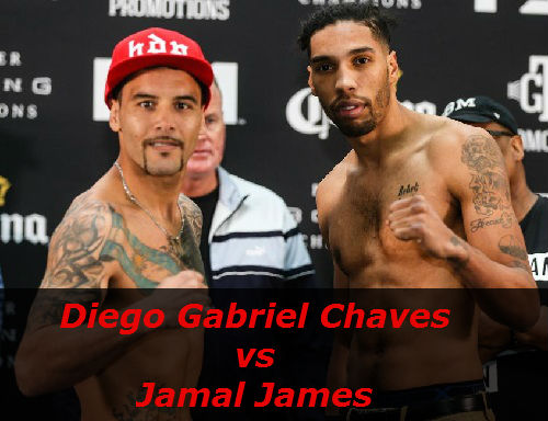 Бой Диего Чавес против Джамал Джеймс