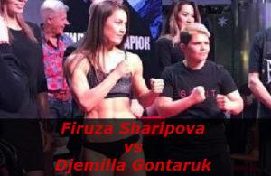 Бой Фируза Шарипова против Джемилла Гонтарук