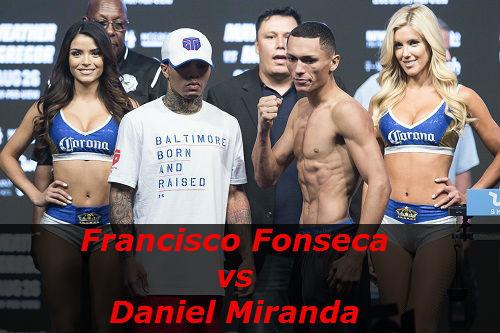 Бой Франсиско Фонсека против Даниэль Миранда