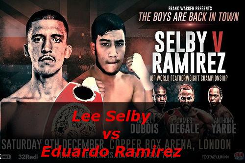 Бой Ли Селби против Эдуардо Рамирес
