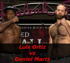Видео боя Луис Ортис – Дэниел Мартц – Luis Ortiz vs Daniel Martz