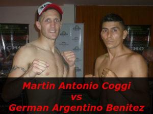 Fight Martin Antonio Coggi vs German Argentino Benitez