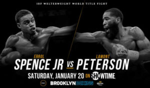 Fight Errol Spence Jr vs Lamont Peterson